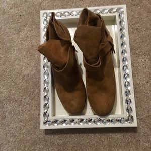 UGG suede ankle boots-New